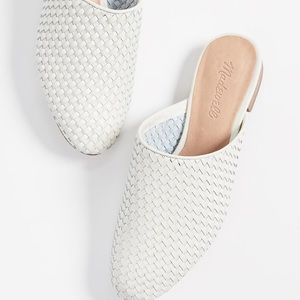 Madewell The Cassidy Woven Mule vintage canvas
